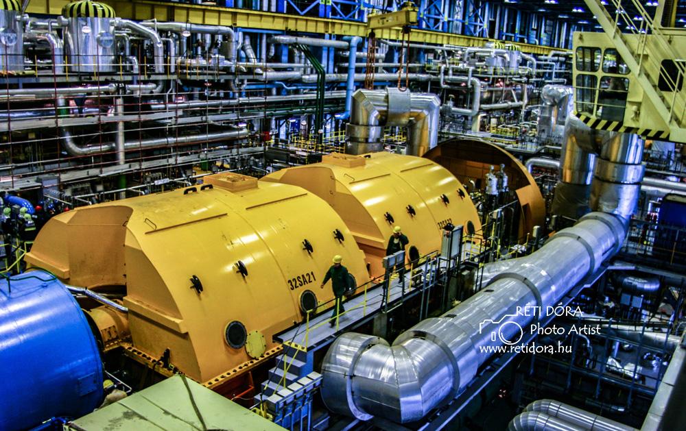 Paksi Atomerőmű - Ipari fotózás - Réti Dóra
